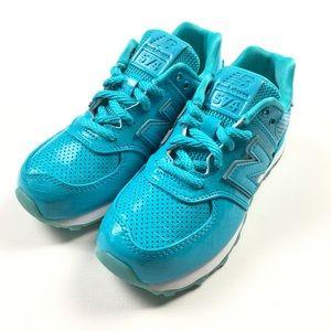 6dabe3462a72 New Balance Shoes - New Balance 574 Aqua Croc Kids Youth Shoes 1 Z13